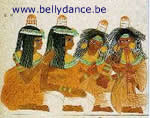 Picture pharaonic musicians